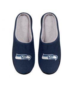 seattle seahawks football full over printed slippers 4