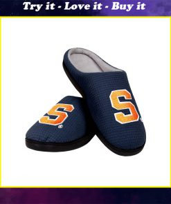 syracuse orange mens basketball full over printed slippers