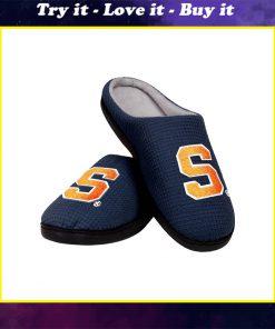syracuse orange mens basketball full over printed slippers