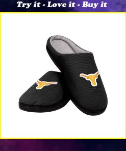 texas longhorns football full over printed slippers