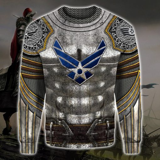 united states air force warrior all over printed sweatshirt