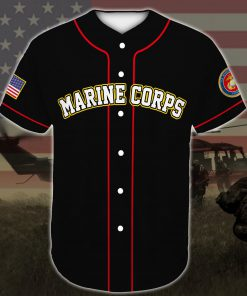 united states marine corps veteran veteran boots all over printed baseball shirt 4