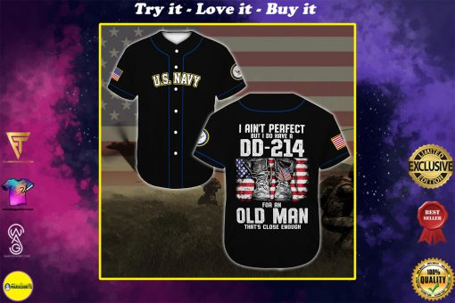 united states navy veteran boots all over printed baseball shirt