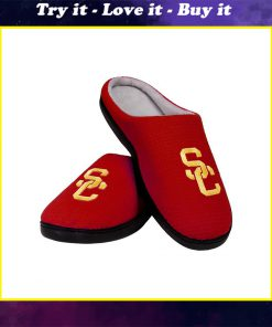 usc trojans football full over printed slippers