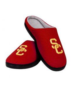 usc trojans football full over printed slippers 3