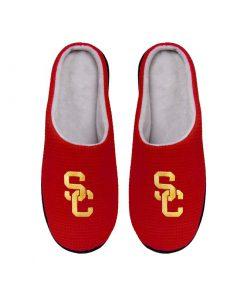 usc trojans football full over printed slippers 4