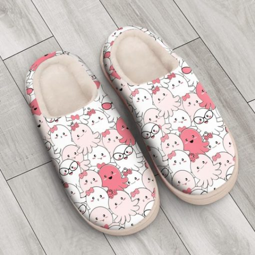 baby octopus all over printed slippers 3