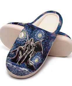 cthulhu mythos in night all over printed slippers 4