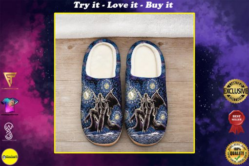 cthulhu mythos in night all over printed slippers
