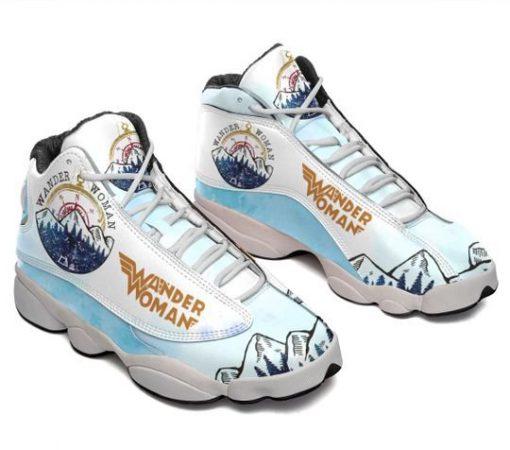 hiking wander woman all over printed air jordan 13 sneakers 3