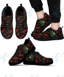 in a world full of rose be a weed all over printed sneakers 3