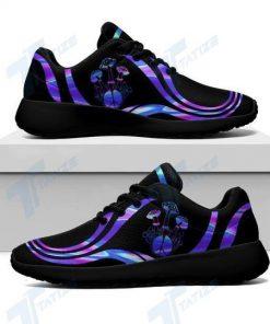 mushroom tie dye all over printed sneakers 2