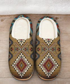 native american pattern all over printed slippers 2