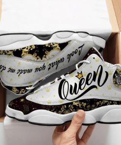 queen look what you made me do all over printed air jordan 13 sneakers 1
