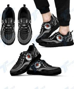 skull you are my sunshine all over printed sneakers 4