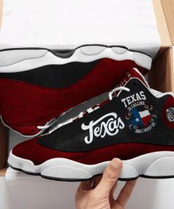 texas is calling and i must go all over printed air jordan 13 sneakers 1
