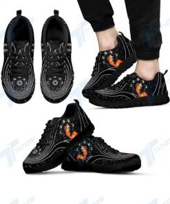 the galaxy fox all over printed sneakers 5