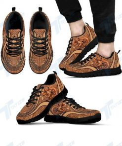 vintage dachshund dog lover all over printed sneakers 5