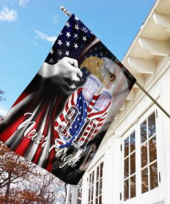 9 11 2001 we will never forget american eagle flag 2