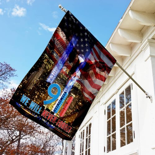 american flag 911 we will never forget all over print flag 3