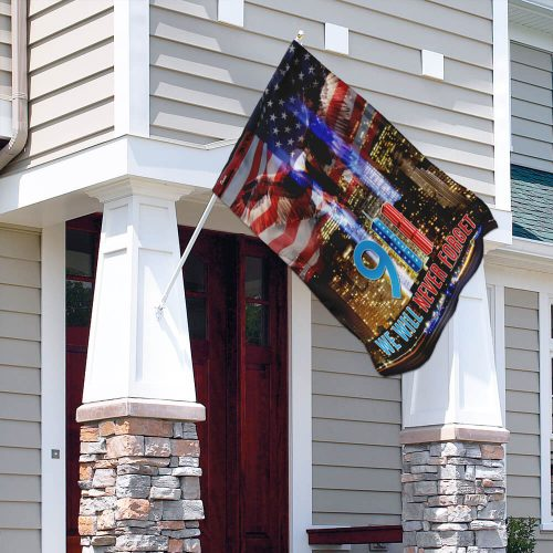 american flag 911 we will never forget all over print flag 4