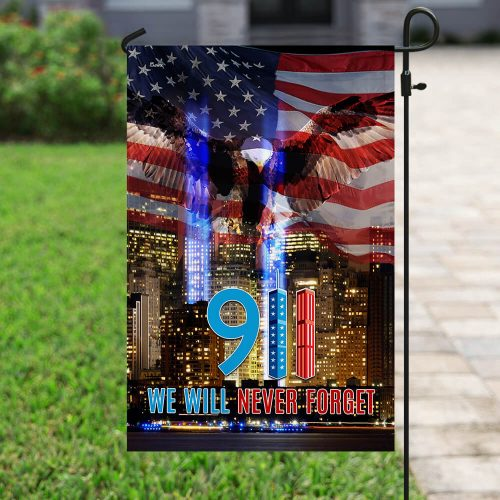 american flag 911 we will never forget all over print flag 5