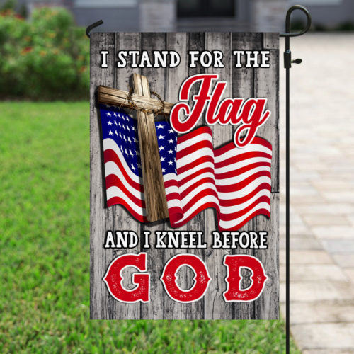 american flag i stand for the flag and i kneel before God flag 3