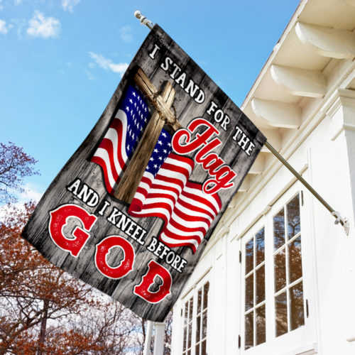 american flag i stand for the flag and i kneel before God flag 4