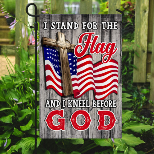 american flag i stand for the flag and i kneel before God flag 5