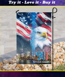 american flag september 11th never forget all over print flag
