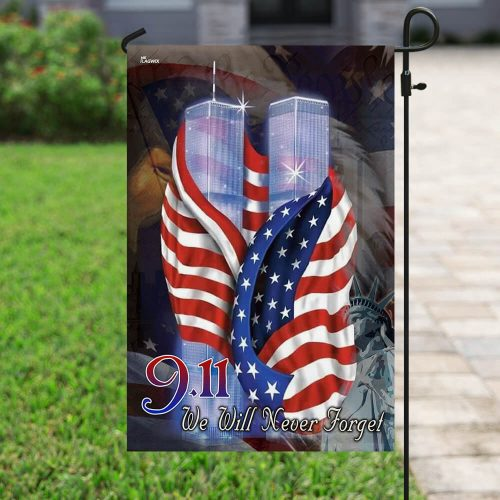 american flag september 11th we will never forget all over print flag 5