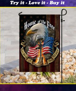 american flag veteran home of the free all over print flag