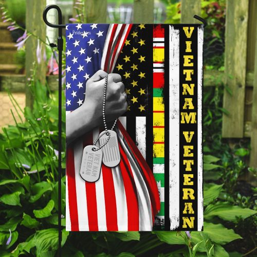 american flag vietnam veteran all over print flag 5
