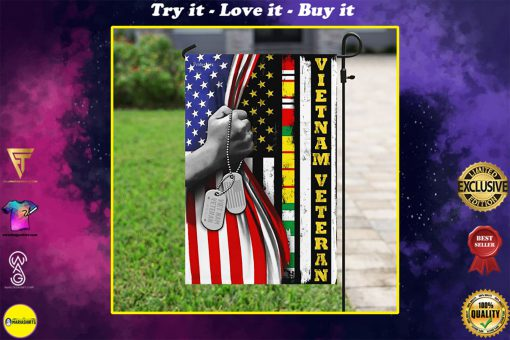 american flag vietnam veteran all over print flag