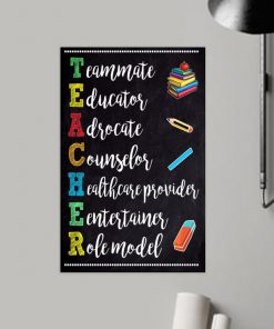 classroom teacher teammate educator adrocate poster 3