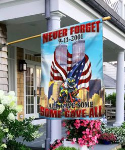 firefighter 343 never forget 9 11 2001 full printing flag 2