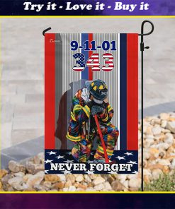 firefighter never forget american all over print flag