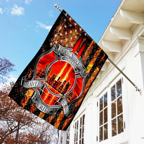 firefighter you will never forget full printing flag 3