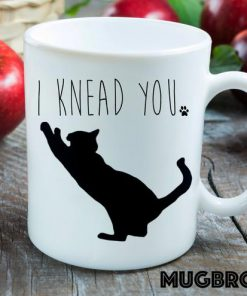 i knead you cat lover coffee cup 1