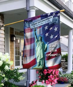 in honor and remembrance of september 11 2001 full printing flag 2