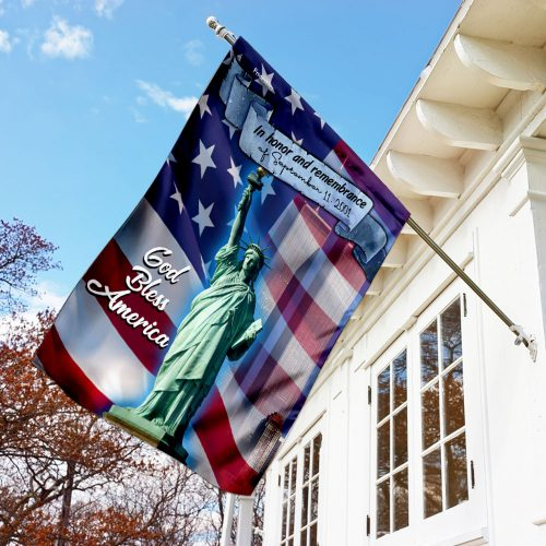 in honor and remembrance of september 11 2001 full printing flag 3