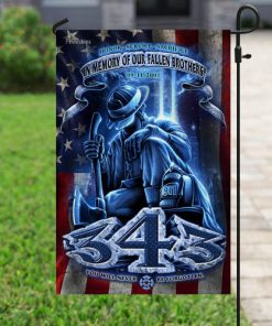 in memory of our fallen brothers firefighter flag 4