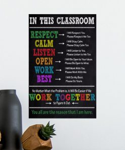in this classroom you all are the reason that i am here poster 5