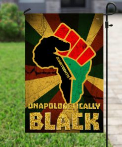 juneteenth unapologetically black full printing flag 2