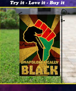 juneteenth unapologetically black full printing flag