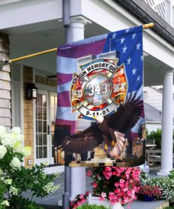 never forget who gave it all firefighter flag 2