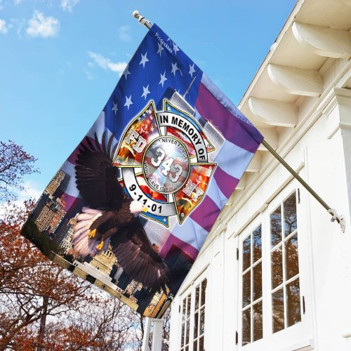 never forget who gave it all firefighter flag 3