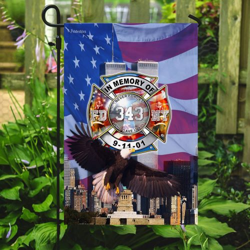 never forget who gave it all firefighter flag 5
