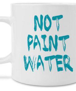 not paint water watercolor art coffee mug 1