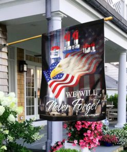patriot day we will never forget america full printing flag 2